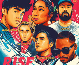 Led by Eric Bellinger, Inigo Pascual, Sam Concepcion, Moophs