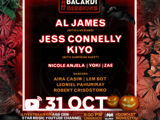 #BacardiSessions Lineup Revealed